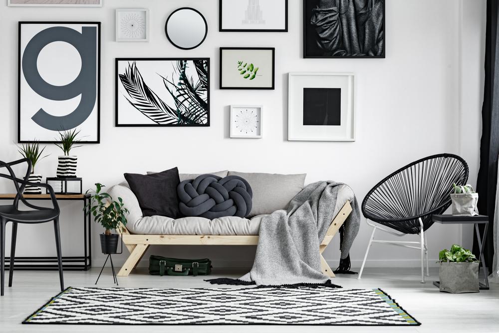 tableaux muraux pour décorer votre salon